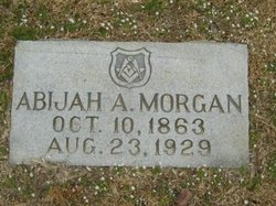Abijah Alfred Morgan