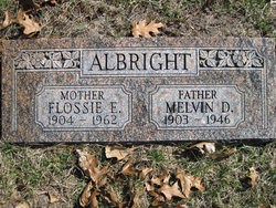 Flossie Eva <i>Cox</i> Albright