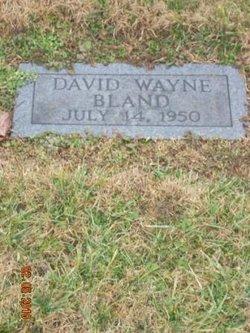 David Wayne Bland