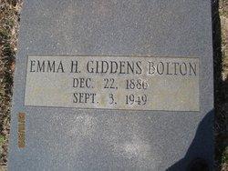 Emma H <i>Giddens</i> Bolton