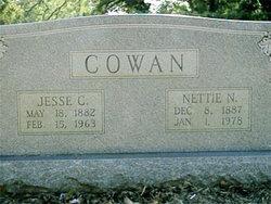 Nettie Narcissa <i>Baugh</i> Cowan