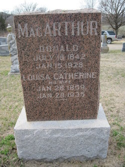 Louisa Catherine <i>Harris</i> MacArthur