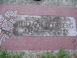 Julia R. Forsberg