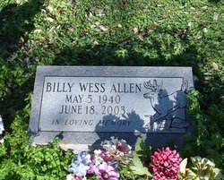 Billy Wess Allen