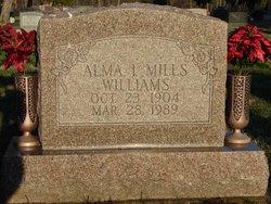 Alma Irene <i>Mills</i> Williams