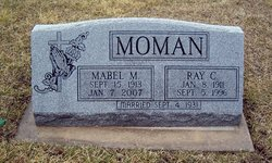 Mabel Margaret <i>Allen</i> Moman