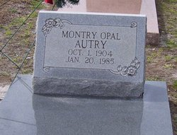 Montry Opal <i>Lewis</i> Autry