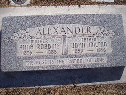 Anna <i>Robbins</i> Alexander