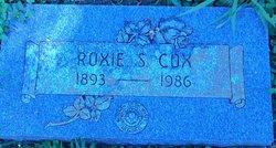 Roxie <i>Sprowls</i> Cox
