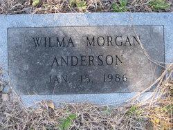 Wilma <i>Morgan</i> Anderson