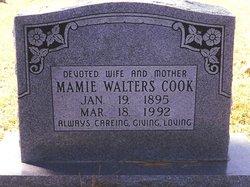 Mamie <i>Walters</i> Cook