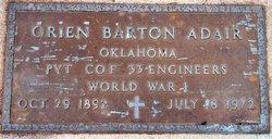 Orien Barton Adair