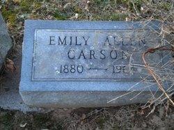 Emily <i>Allen</i> Carson