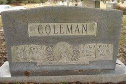 Flora <i>Dyess</i> Coleman