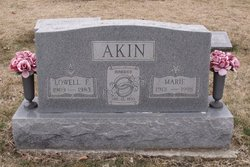 Cletis Marie <i>Johnson</i> Akin