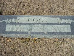 Cora Jane <i>Sprawls</i> Cook