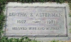 Bertha E. <i>East</i> Alterman