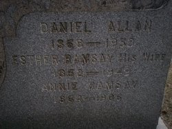 Esther <i>Ramsay</i> Allan