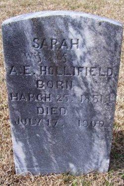Sarah Sally <i>Mace</i> Hollifield