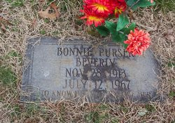 Bonnie <i>Purser</i> Beverly