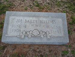 Joe Bailey Billings