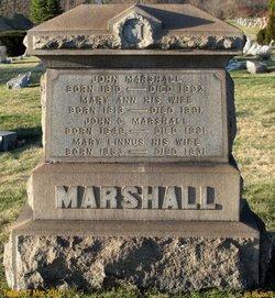 Mary Linnus <i>McCartney</i> Marshall