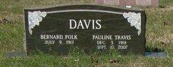 Pauline <i>Travis</i> Davis