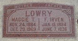 Fredrick Irven Lowry