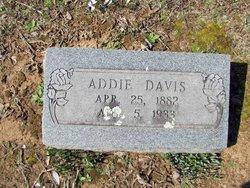 Addie <i>Thomas</i> Davis