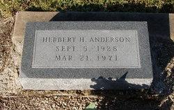 Herbert H. Anderson
