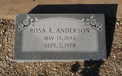 Rosa E. Anderson