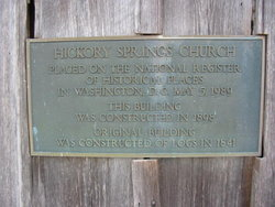 Hickory Springs Cemetery