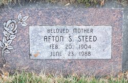 Afton Eileen <i>Cleverly</i> Steed