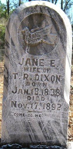 Jane Elizabeth <i>NeSmith</i> Dixon
