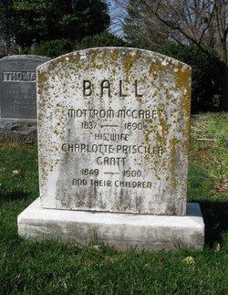 Charlotte Priscilla <i>Gantt</i> Ball