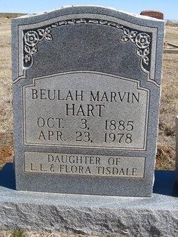Beulah Marvin <i>Tisdale</i> Hart