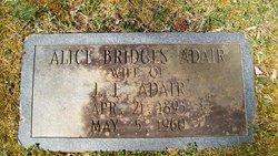Alice <i>Bridges</i> Adair