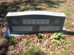 Mary Ann <i>Casebeer</i> Evans