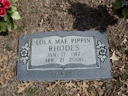 Lola Mae <i>Pippin</i> Rhodes