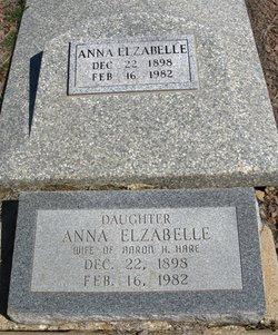 Anna Elizabelle <i>Binkley</i> Hare