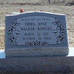 Emma Rene <i>Walker</i> Bowers