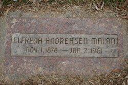Elfrida Petria <i>Andreasen</i> Malan
