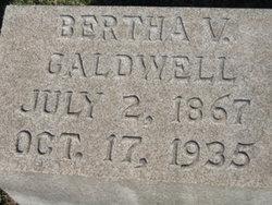 Bertha Vance Caldwell