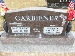 Mary V <i>Lopes</i> Carbiener