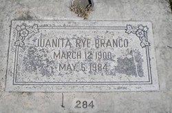 Juanita Rye <i>McGill</i> Branco