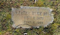 Agatha <i>Buck</i> Benz