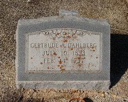 Gertrude A. Dahlberg