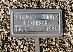 Mildred Gladys Anderson