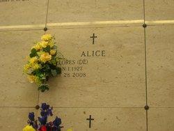 Delores Ruth <i>Taylor</i> Alice