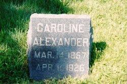 Caroline Jane <i>Lyons</i> Alexander